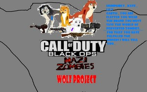 call of duty black ops nazi zombie волк project