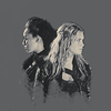 Clarke and Lexa photo probably with a portrait titled clexa.