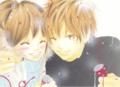 cute anime couple - anime photo
