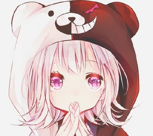 cute animê girl ~ Dangan Ronpa hoodie