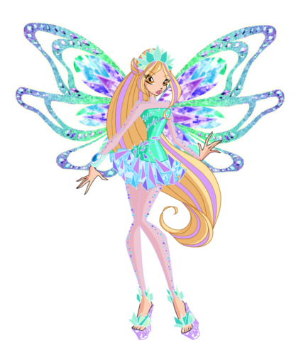 Winx Club(ウィンクス・クラブ) 壁紙 entitled daphne tynix concept によって bloom2 d96gmw9