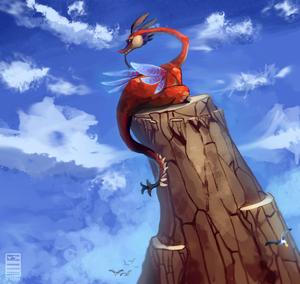 dragon roost valoo द्वारा stormful d70lpws
