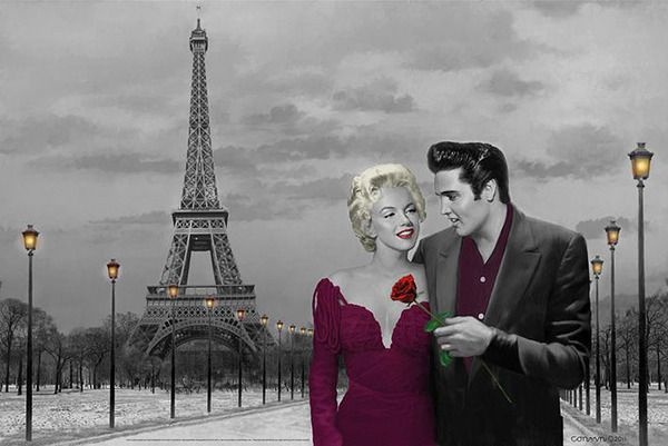 elvis presley and marilyn monroe