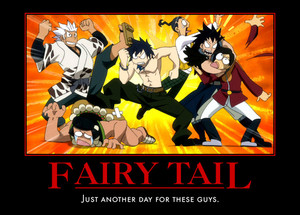 fairy tail guild fight oleh seekerarmada d5jl0zr