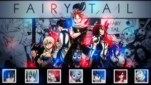 fairy tail kertas dinding
