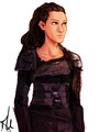 fanart - commander-lexa-the-100 fan art