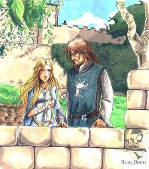 faramir and eowyn by acidbetta