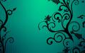 random - green background wallpaper