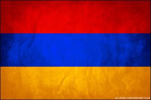 grunge flag of armenia door al zoro d4q3xs0