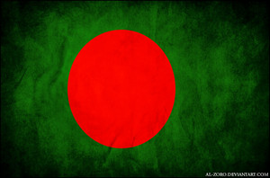 grunge flag of bangladesh by al zoro d4q44gd