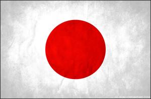 grunge flag of Hapon sa pamamagitan ng al zoro d4q44v3