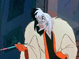 Cruella DeVil karatasi la kupamba ukuta containing anime called Cruella de Vil