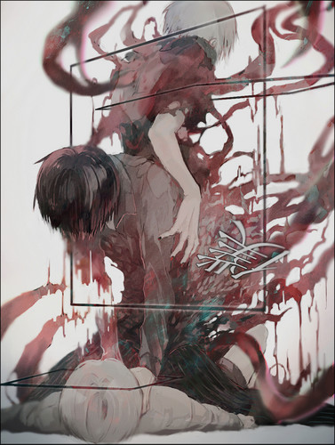 tokyo ghoul wallpaper probably containing a sumac and an abattoir titled kaneki