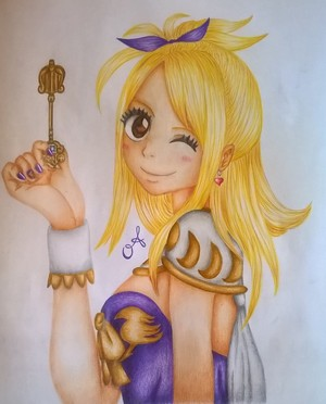 lucy heartfilia fanart grand magic games door annaa998 d94xojo