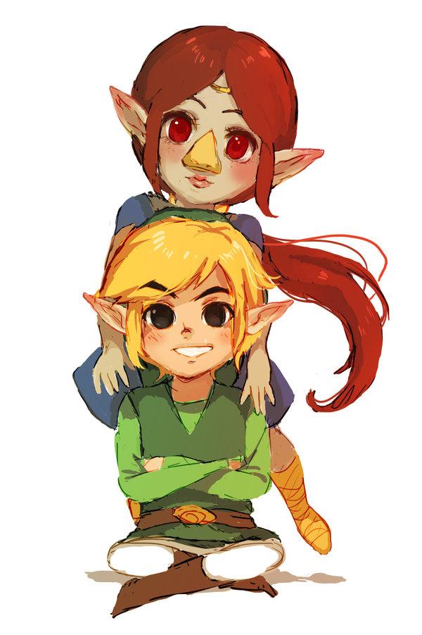 Zelda Wind Waker Images Medli And Link By Aurellien D8bgoug Hd