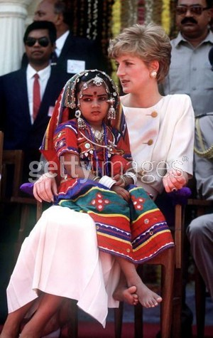 princess diana in india
