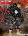 punisher by liamzedthedesigner d9wk13f - marvel-comics fan art
