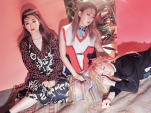 red velvet for marie claire