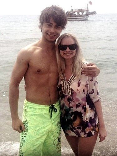 Alexander Rybak wallpaper possibly with swimming trunks, a hunk, and skin called rybak 17