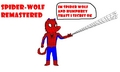 the amazing spider wolf remastered - alpha-and-omega photo