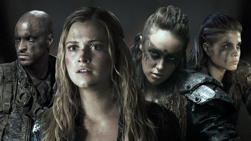 The 100 wallpaper possibly containing a portrait entitled the100season2