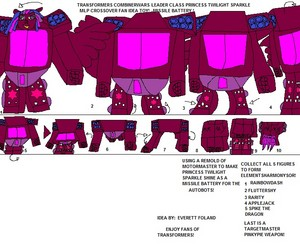transformes combiner wars crossover mlp fim toy idea instructions enjoy!
