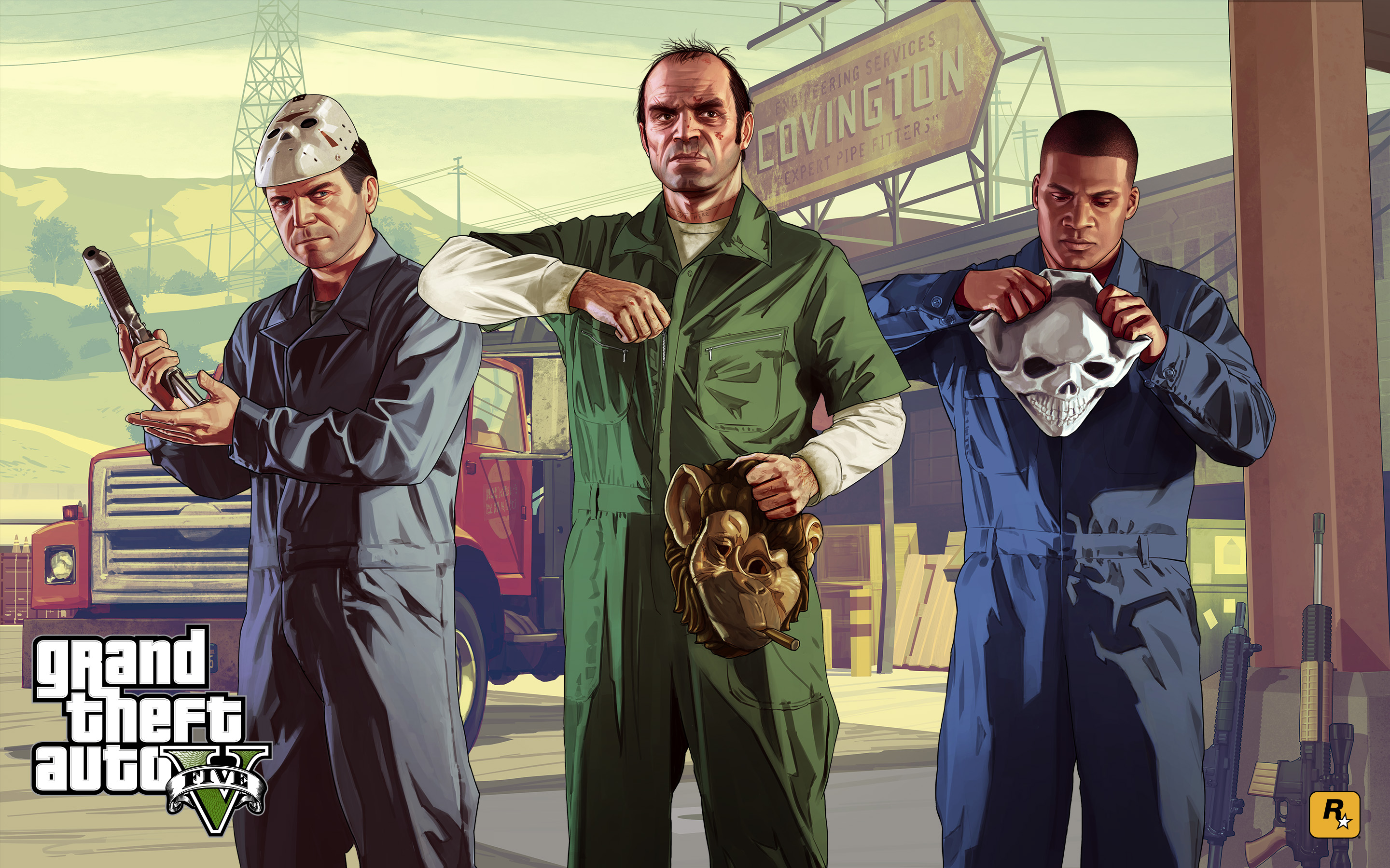 Franklin Clinton Gta V Images Blitzplay 2880x1800 HD Wallpaper And Background Photos