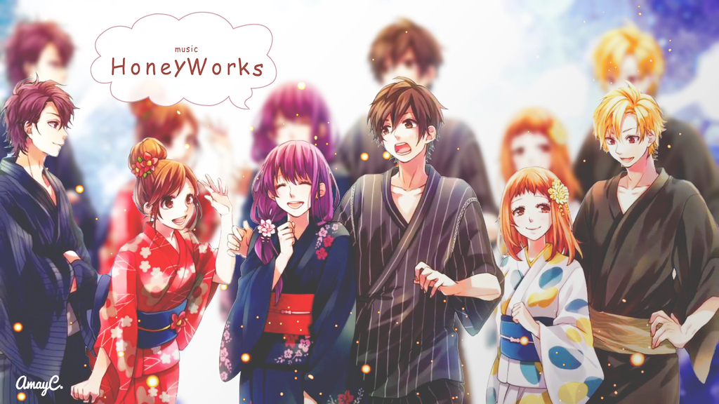 kertas dinding honeyworks