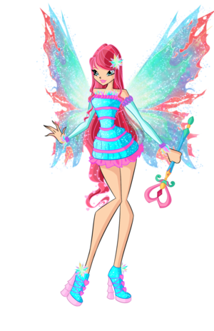 winx  bloom mythix by dragonshinyflame