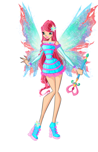 The Winx Club wallpaper entitled winx  bloom mythix by dragonshinyflame