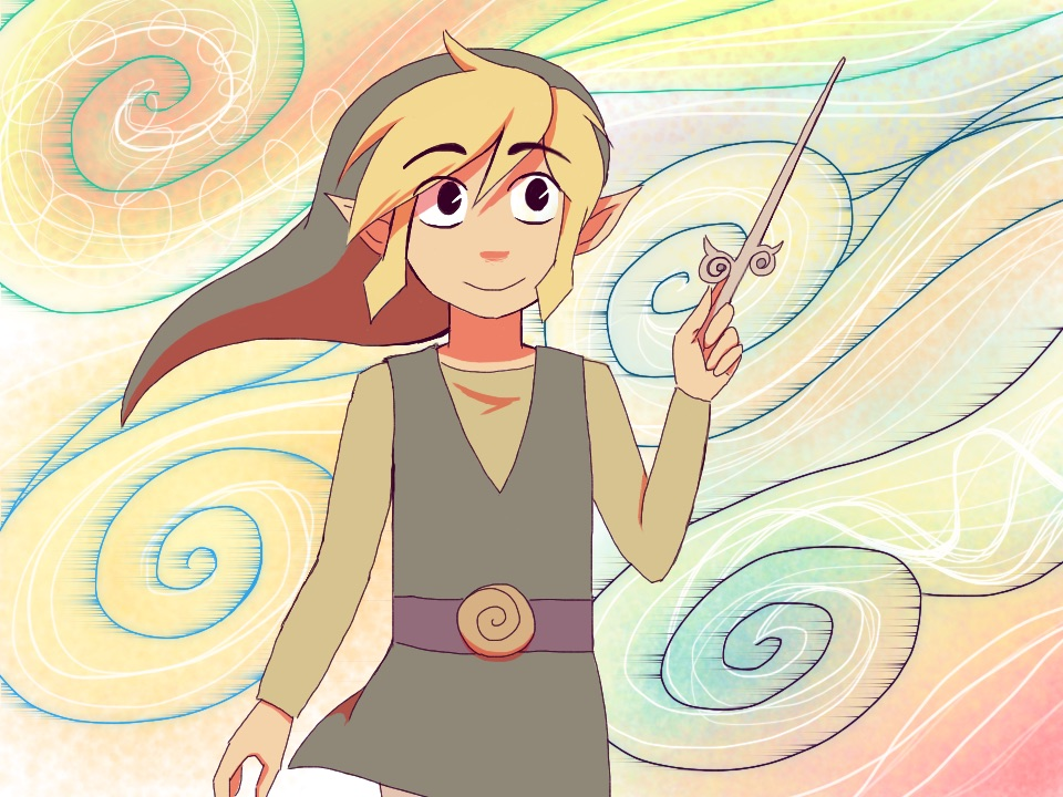 Zelda Wind Waker Images Young Waker Of The Winds By Rosewhistle