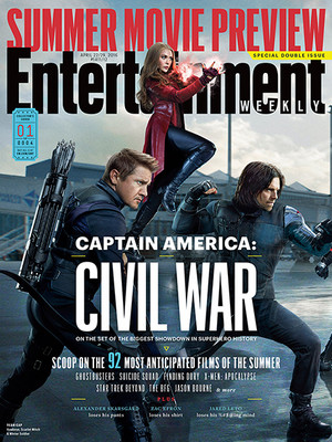 'Captain America: Civil War': Exclusive Look Inside the Biggest Superhero Showdown