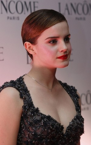 Emma at Lancome VIP Dinner in Hong Kong (2011. 12. 07)