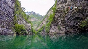 Komani Lake, Albanien