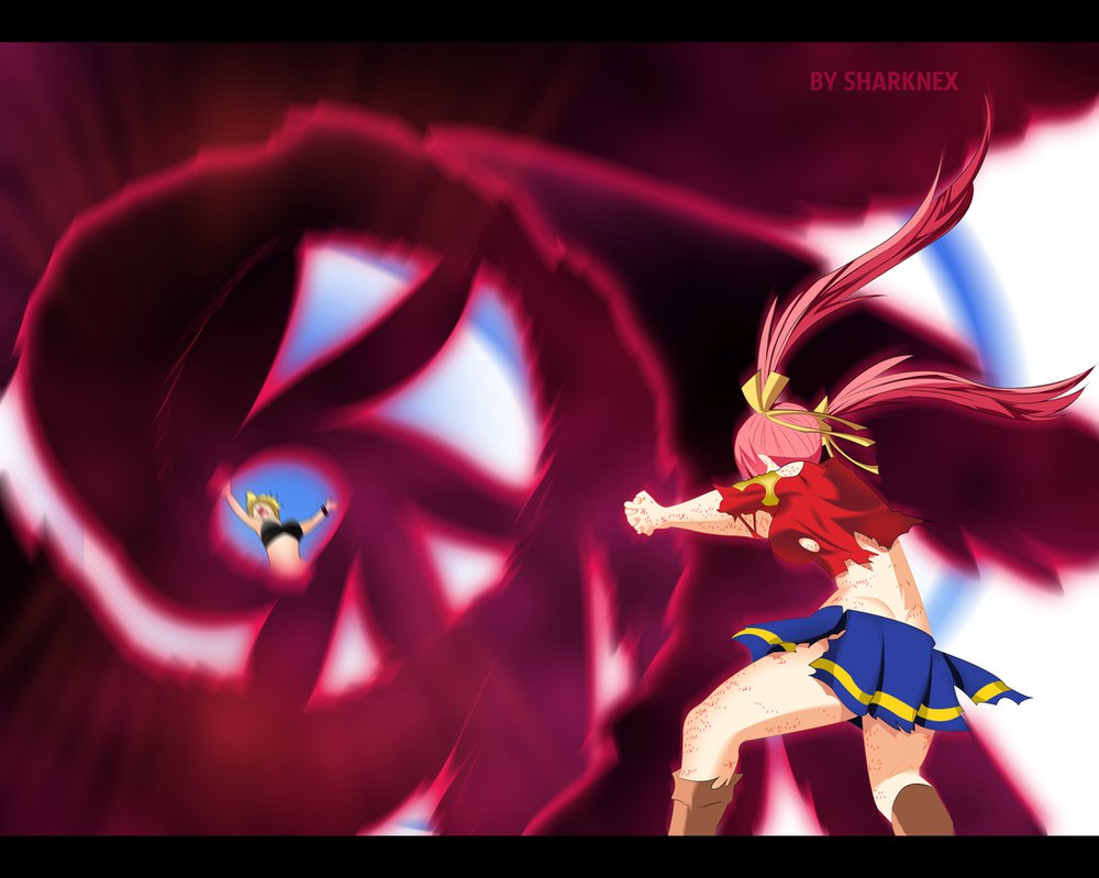 *Sherria Defeats Dimaria : God Slayer: Heavenly Gathering of Clouds*