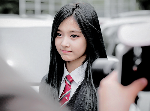 Twice (JYP Ent) hình nền probably with a business suit titled ♥ Tzuyu ♥