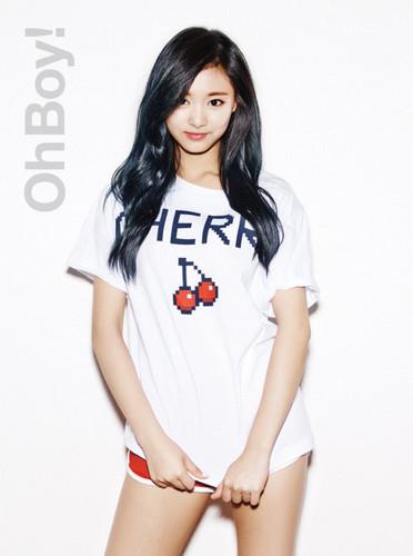 Twice (JYP Ent) वॉलपेपर titled ♥ Tzuyu ♥