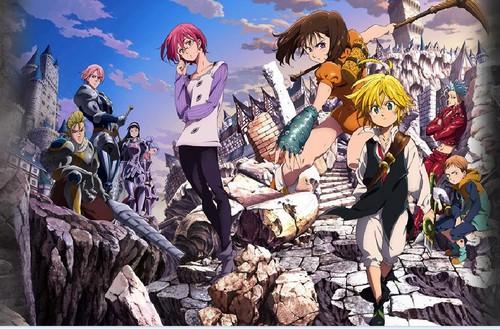Nanatsu No Taizai karatasi la kupamba ukuta with anime called ººnAnAtSu No tAiZaiºº