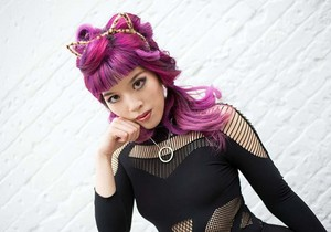 160120 cat cosplay catsuit catwoman ears headband girl 1