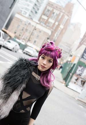 160120 faux fur, manyoya ombre kanzu, koti bohemian fashion blogger 2