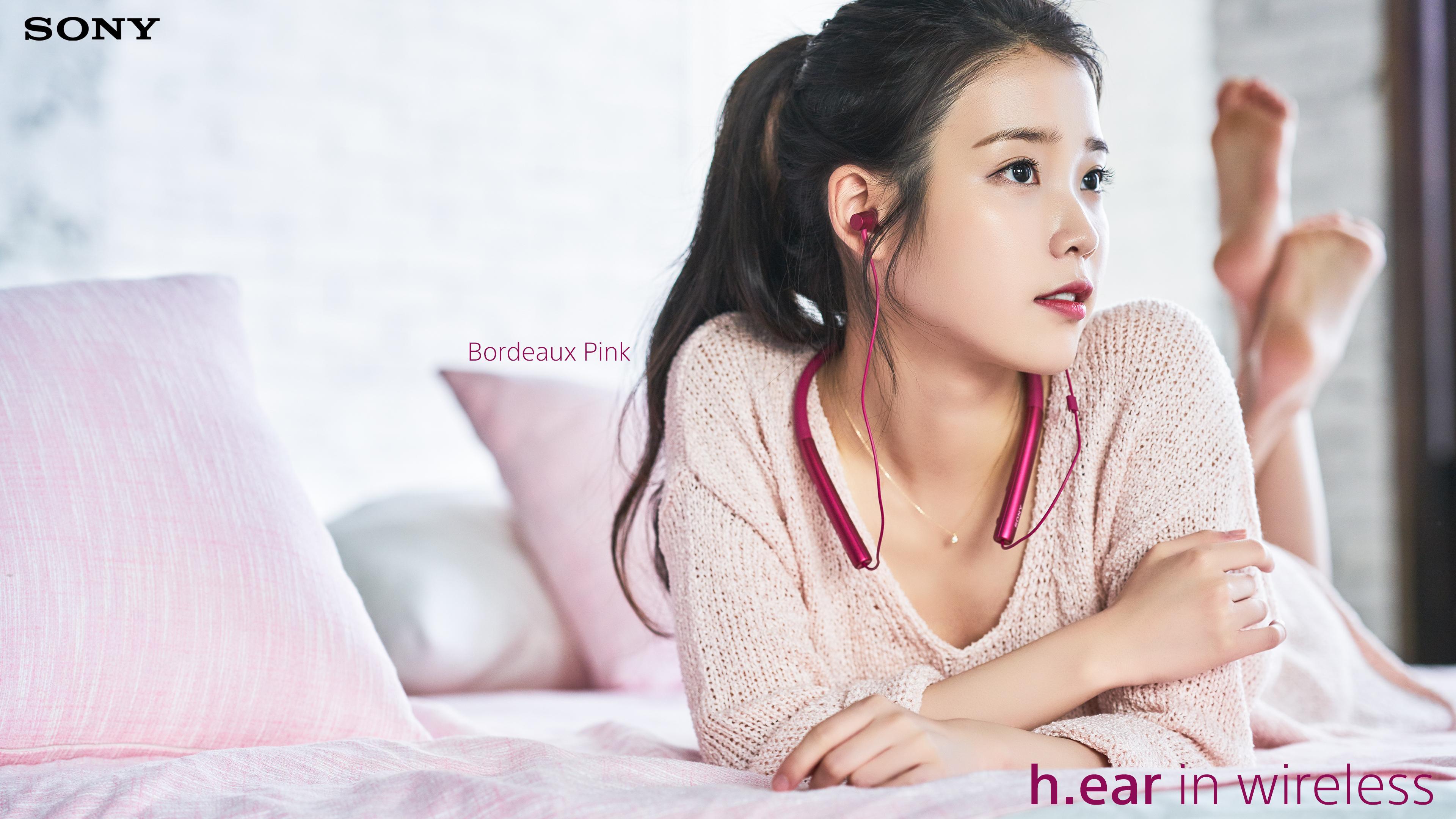 160419 IU for Sony Korea 보르도 핑크 Bordeaux Pink