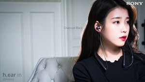 160419 아이유 for Sony Korea 차콜 블랙 Charcoal Black