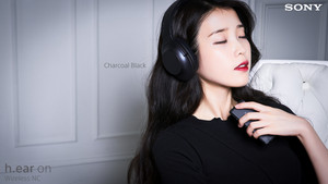 160419 आई यू for Sony Korea 차콜 블랙 Charcoal Black