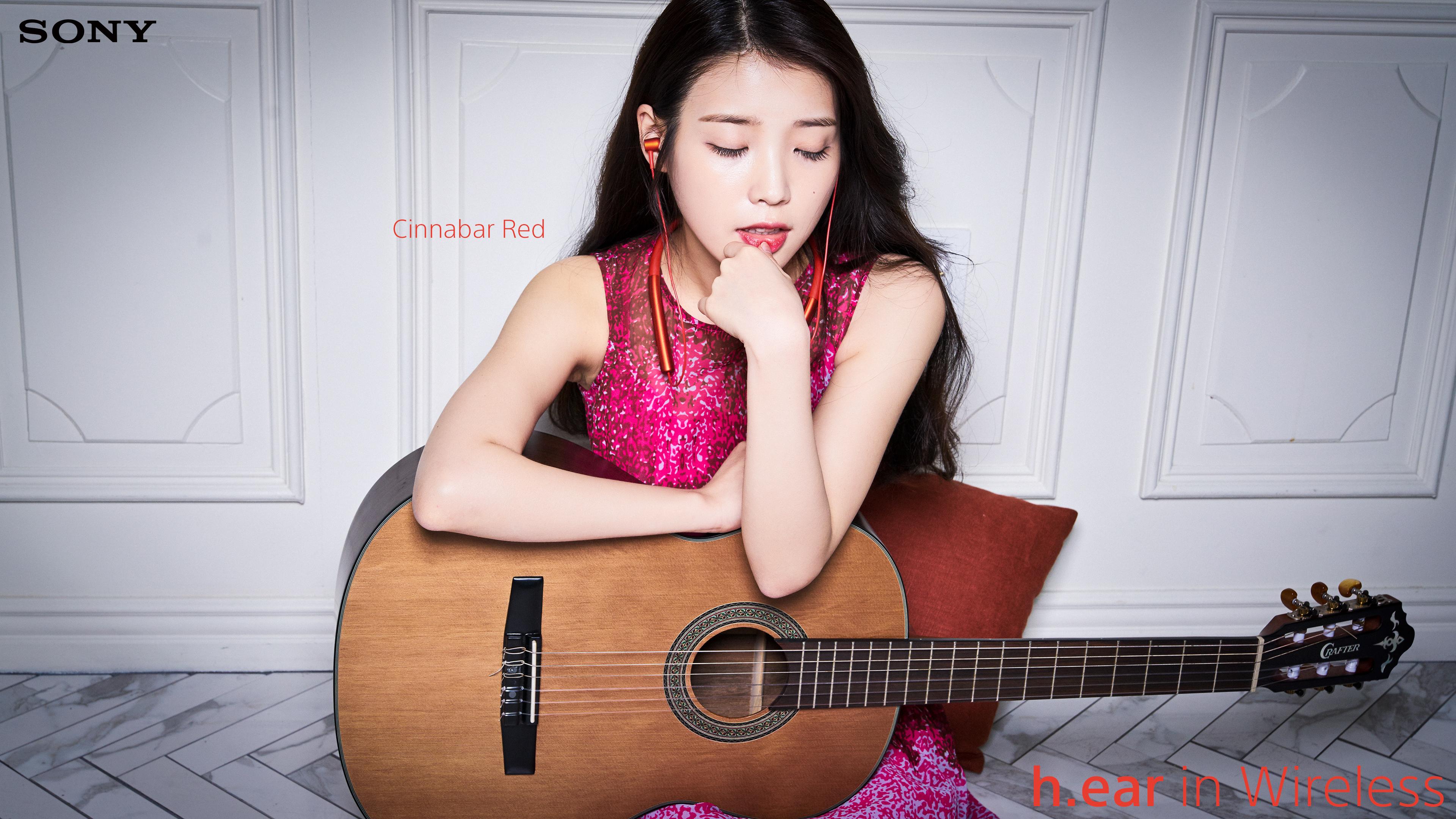160419 IU for Sony Korea 시나바 레드 Cinnabar Red