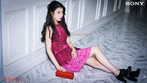 160419 IU for Sony Korea 시나바 레드 Cinnabar Red