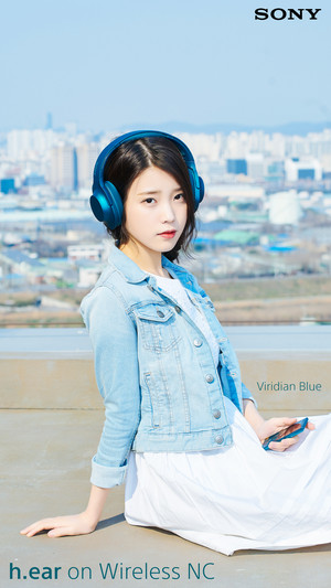160419 ইউ for Sony Korea 비리디언 블루 Viridian Blue