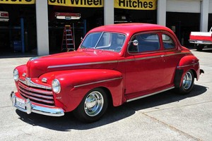 1946 Ford Super Deluxe.