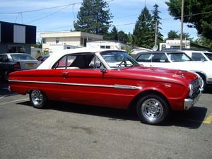 1963. Ford falco, falcon cabriolet