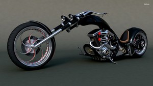 29046 harley chopper 1920x1080 motorcycle Обои