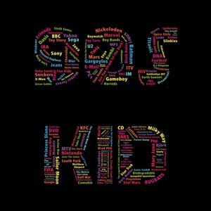 90s kid logo